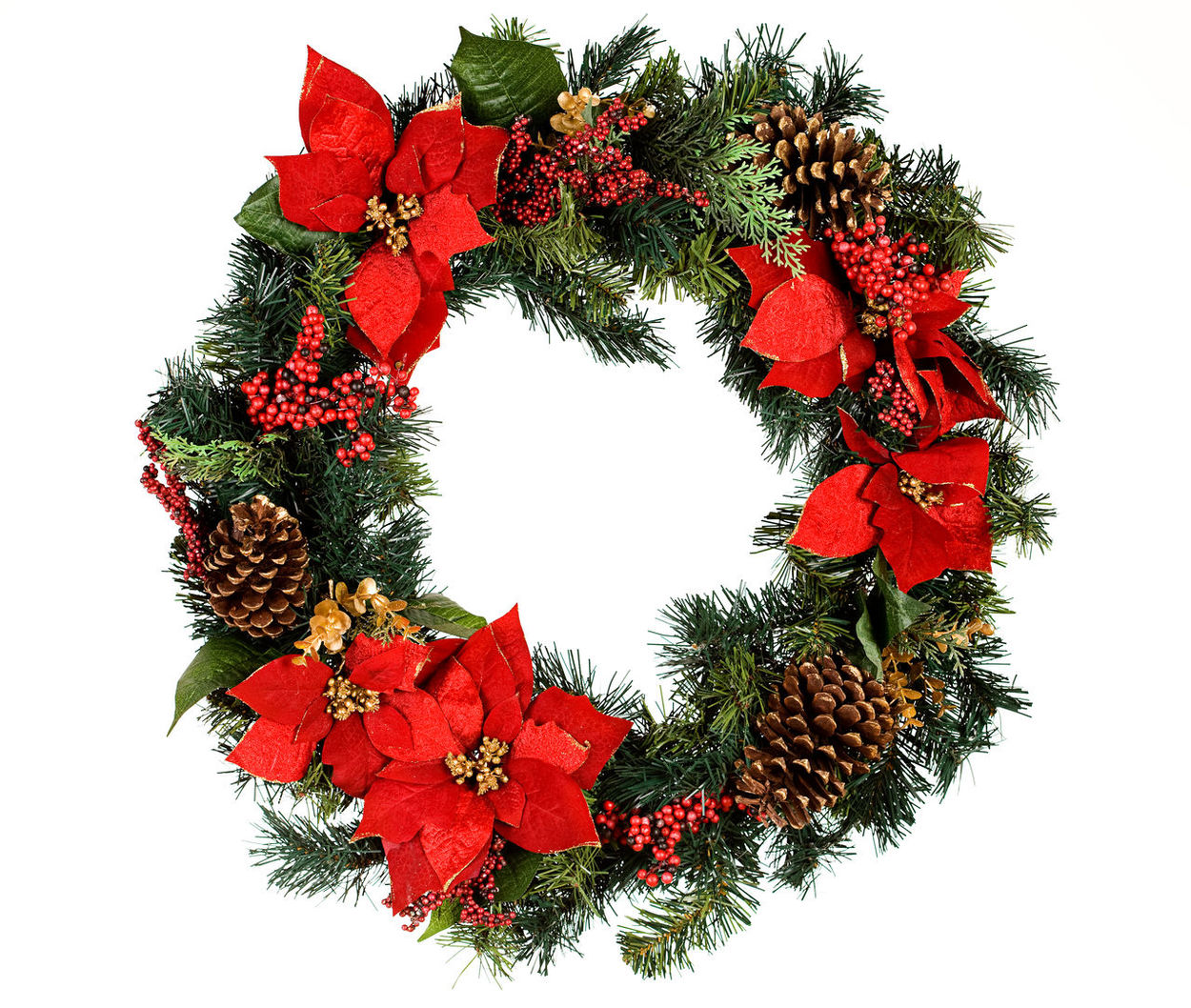 Isolated Christmas wreath series, with and without snow. Christmas Christmas Wreath Isolated Christmas Decoration Cut Out Decoration Decorations Festive Isolated White Background Plant Studio Shot White Background Wreath