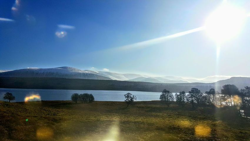 View From The Train Window My Country In A Photo Scotland Scottish Highlands Loch  Water Mountain Range Nature Idyllic Domestic Travel Hills Train To InvernessSunbeam Landscape Scenics Day Travel Destinations Beauty In Nature Mountain The Week On Eyem EyeEm Best Shots Today's Hot Look Travel