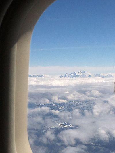 Flyswiss Switzerland Swissgirl EyeEm Best Shots Airport Airbus Montblanc