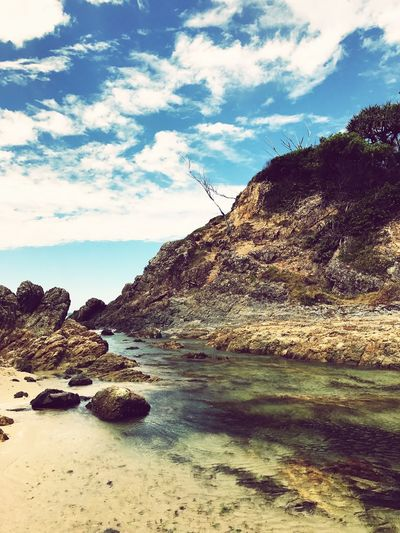 Byron Bay Ocean Coastline Perspectives On Nature