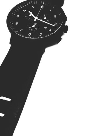 wristwatch Wristwatch Time White Background Clock No People Minute Hand Clock Face Close-up