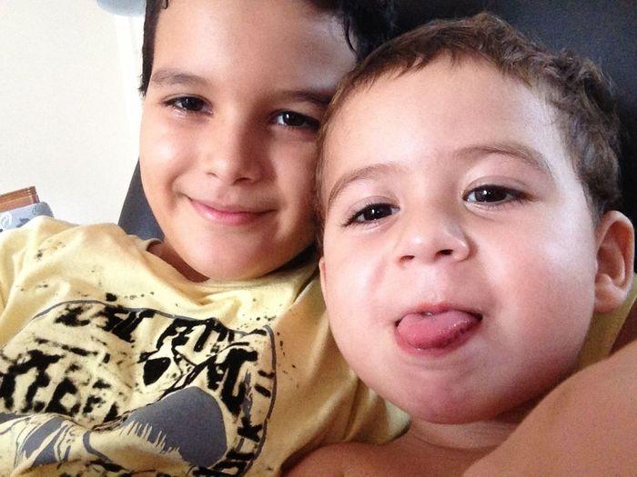 Eu e o meu irmão