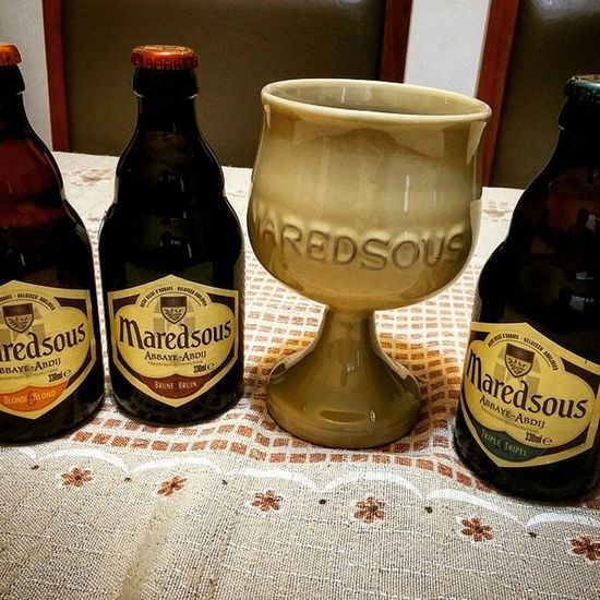 Maredsous Breja Birra Bier Beer Brew Pivo Cerveja Cerveza Triple Tripel Brune Bruin Blonde Blond 6 8