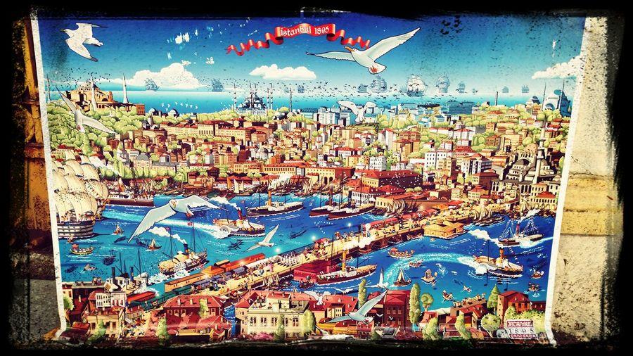 Tarihi 1895 Istanbul Karikatürize First Eyeem Photo