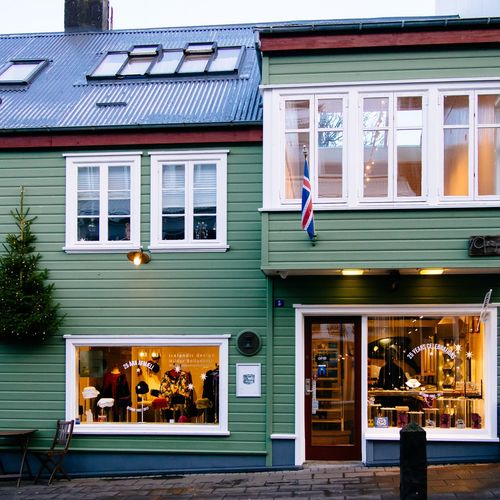 Streets of Reykjavik Iceland Reykjavik Streetphotography Street House Building Exterior Architecture Flag Built Structure Window No People Day
