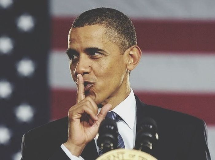 Barack Obama. Naughty Shhhh President Barack Obama