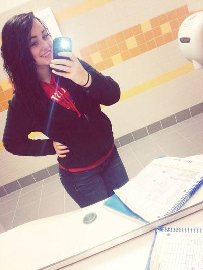 (; school