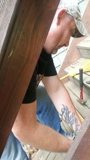 Person Portland Oregon Usa Home Improvements Working Man
