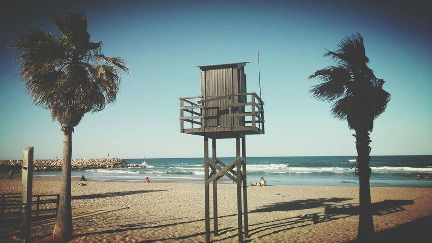 Tarde de playa🌊 en El Perello Valencia Sea Mediterranean  Mare Mediterraneo Valencia, Spain Breeze Warm Nature Photography Valencia✌