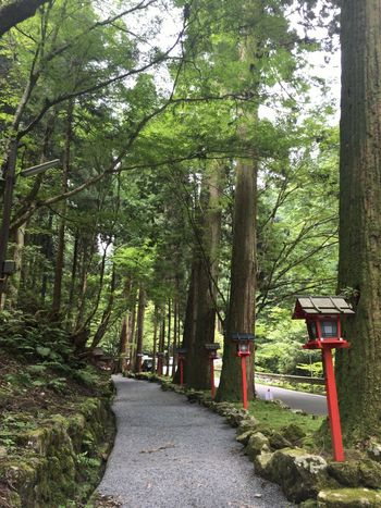 参拝終わり、駅へと。 Kyoto 貴船