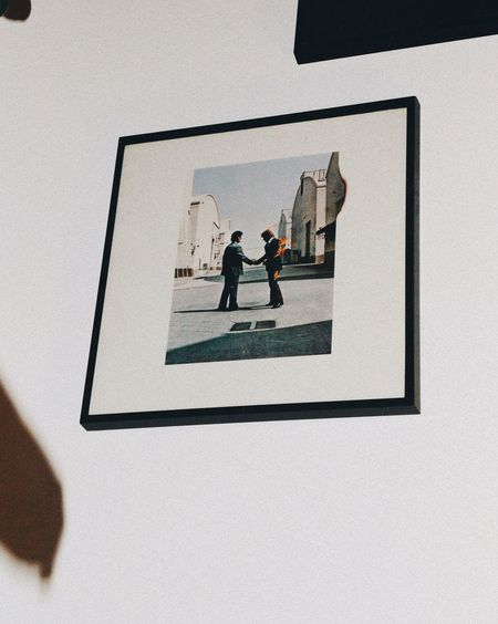 Pink Floyd Vinyl Vinyl Records Decoration Interior Low Angle View Architecture Indoors  Shadow Music EyeEmNewHere