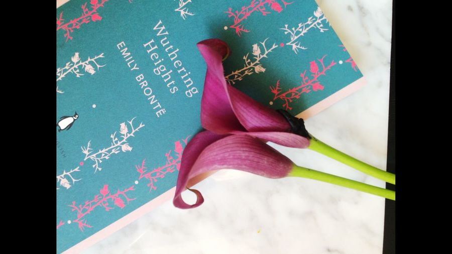 Classic Book Emily Bronte Kalla Love ♥ Flowers Enjoing Life