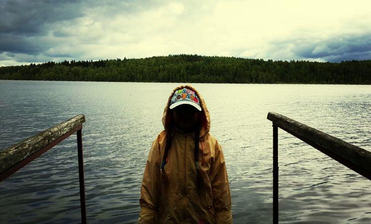 Sister Lake Nice Nature Wonderful