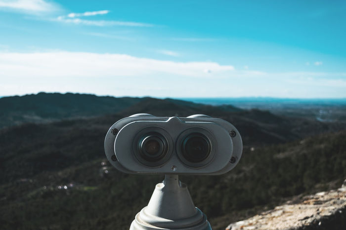 Observing Observation Point Looking View See Landscape