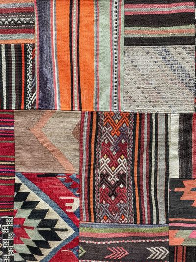 Rag Cloth Greek Greek Style Culture Giftshop Home Decoration  Home Design Home Decor Goods Handmade Geometry Pattern Full Frame Pattern Backgrounds Multi Colored Textile Textured  No People Design Art And Craft Close-up Creativity Craft Carpet - Decor Variation Choice Wall - Building Feature Rug Floral Pattern