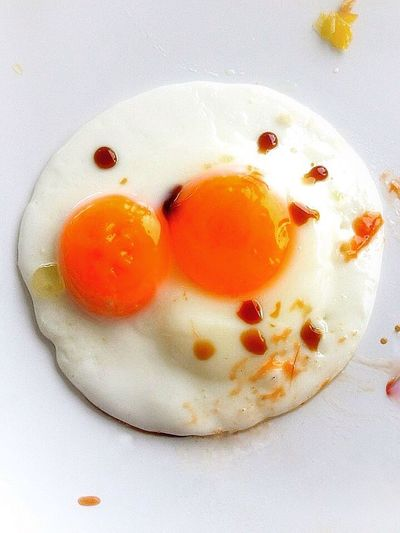 Close-up of breakfast served on plate