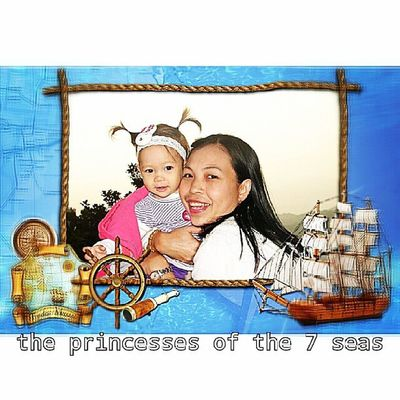 The princesses of the 7 seas
