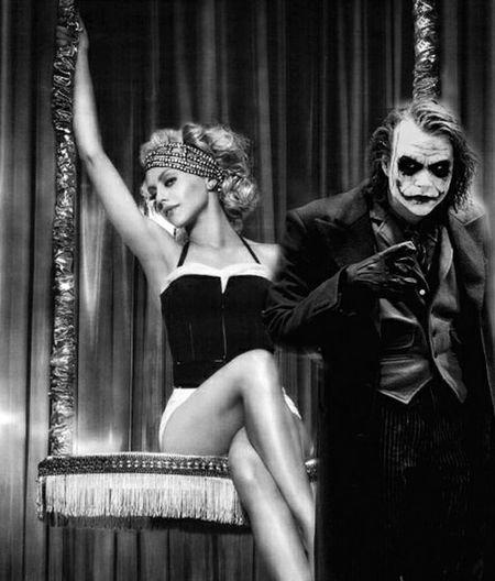 Joker Harleyquinn Madlove Fanartdrawings Jokerandharley Heathledger BrittanyMurphy