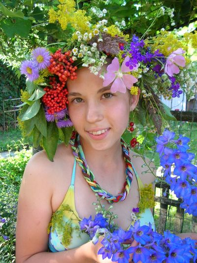 девочка-лето Summergirl  Color Portrait