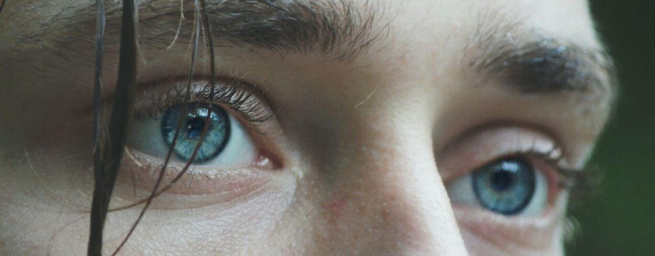 Blue Eyes Wethair  Photography