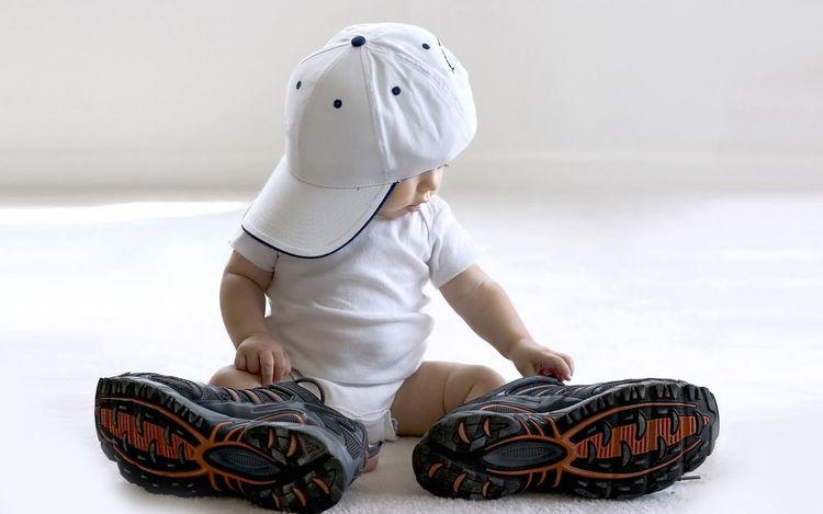 Baby Littlejax Cute Big Shoes