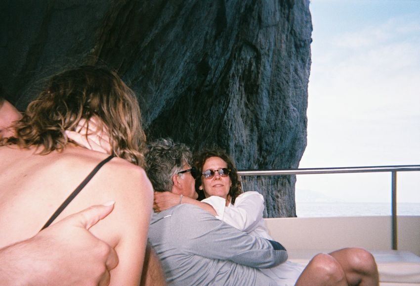Love Adult Capri Couple - Relationship Italy Kissing Leisure Activity Lifestyles Real People Smiling Two People
