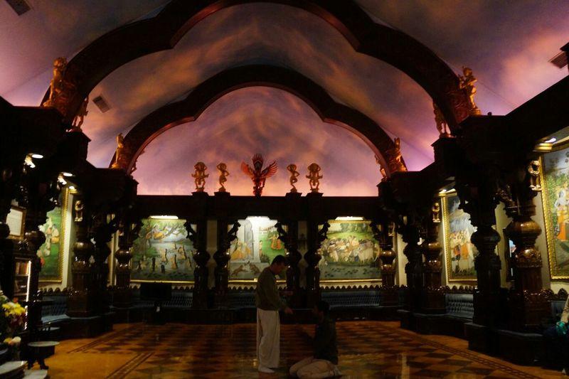 Temple Krshna Art