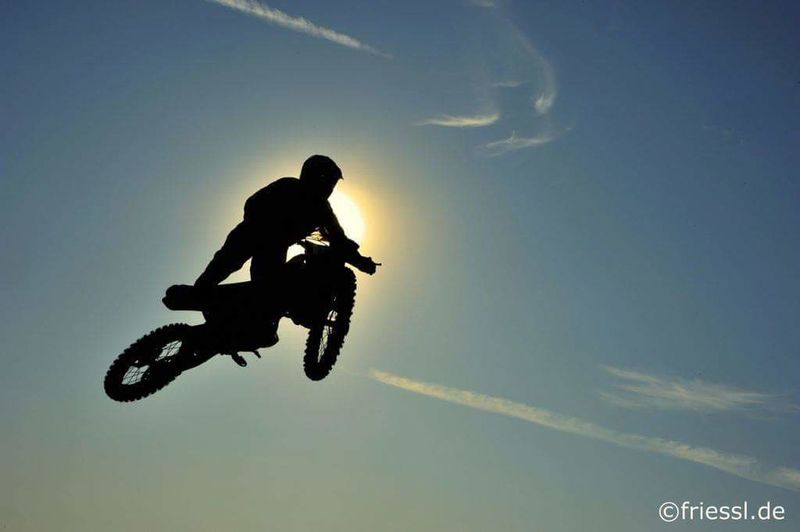 Extreme Sports Motorcycle Motocross Outdoors Motorsport Silhouette Adventure One Person Sport Jumping First Eyeem Photo