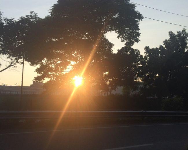 Brightlyshining Sunrises Wheniwasaway Onthestreet Morningactivity Morninginbigcity Letsdowhatwehavetodo