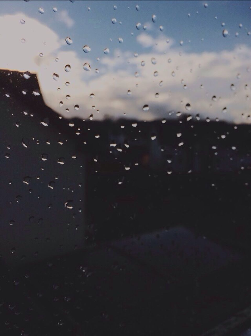 drop, water, wet, rain, raindrop, no people, window, close-up, weather, sky, nature, full frame, day, outdoors, beauty in nature, airplane wing, freshness