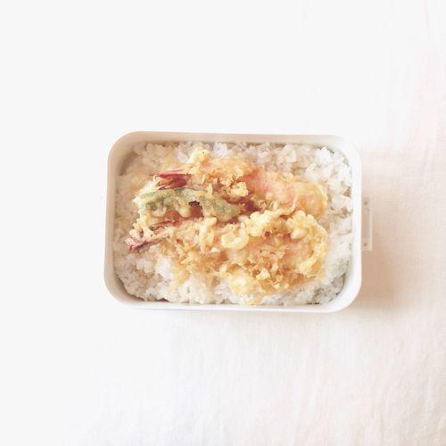 Bento Lunch Box Freshness Foodphotography Yum 天丼♡ Enjoying Life