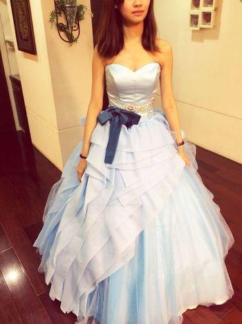 這是冰雪奇緣吧<3 Wedding #Dress Weddingdress