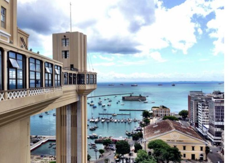 Salvador Bahia Elevador Lacerda Brazil Wish You Were Here