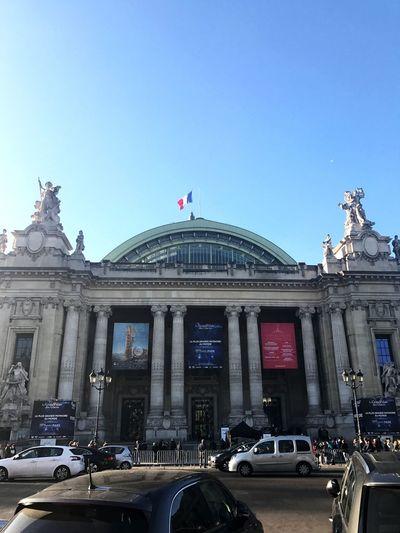 Grandpalais Paris 8eme Arrondissement France Sky Blue