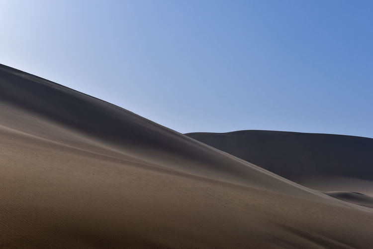Clear Sky Copy Space Day Desert Landscape Nature Sand Sand Dune Scenics - Nature Sky