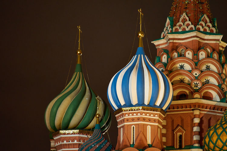 Kremlin detail Architecture Clear Sky Kremlin Kremlin Architecture Russia Moscow Architecture Night No People Outdoors