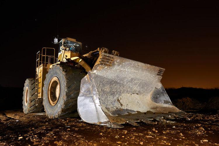 Great bulldozer