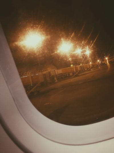 Life Light Lights Memories Night Lights Waiting Airplane Airplane Window Airport Aripuana Close-up Illuminated Landscape Lens Flare Lifestyles Light And Shadow Long Exposure Looking Night No People Outdoors Watching Window Yellow Light Yellow Lights Be. Ready.