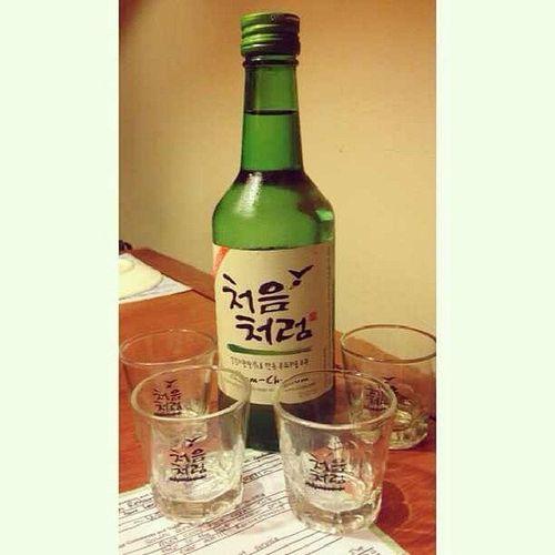 Gojumong Foodporn Foodlover Bestiestime soju korean drink