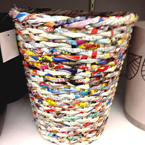 Gum Wrapper Wastbasket