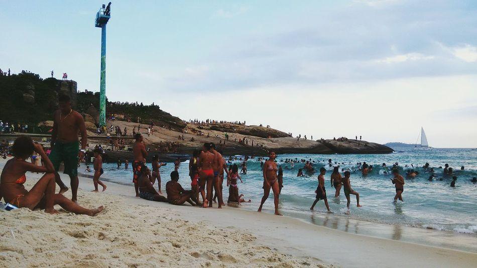 Pedra Do Arpoador Beach Rio De Janeiro, Brazil Open Edit