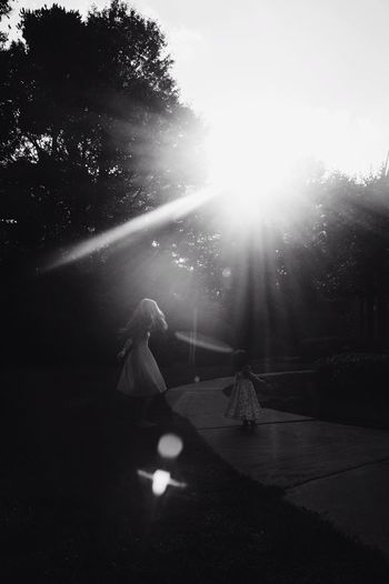 Kids Kid Children Child Childhood Kids Being Kids Capture The Moment Mommy Mom Daughter Toddler  Candid Sunlight Action Spinning Around My Daughter Momanddaughter Mommyandme RePicture Motherhood Enjoying Life Happiness Girl Blackandwhite Black And White Black & White