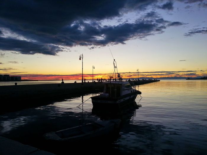 Terrific sunset! Trieste EyeEm Trieste TriesteSocial