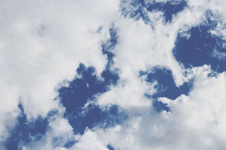 ☁ Clouds ☁ Enjoying Life Hello World Winter Blue