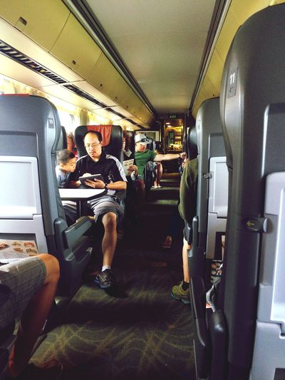 Traveling People Actions Families Capture The Moment World VIA Rail Quebec Ontario Raw Emotion Beauty Redefined Beauty Father & Son Occupy Time