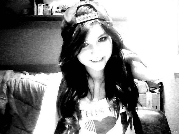 Real Im Not Perfect Smile Black & White