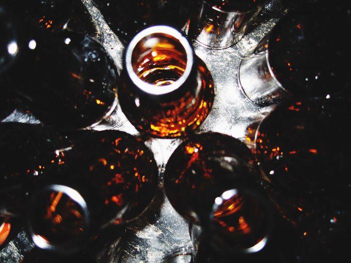 Close-up Homebrew Bottle Fillitup