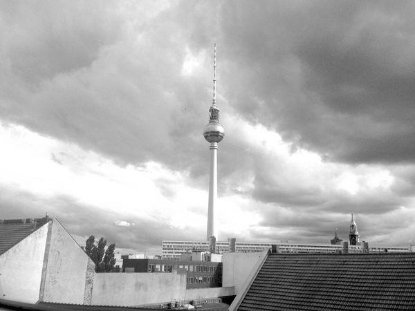 Berlin Office View Office Fernsehturm