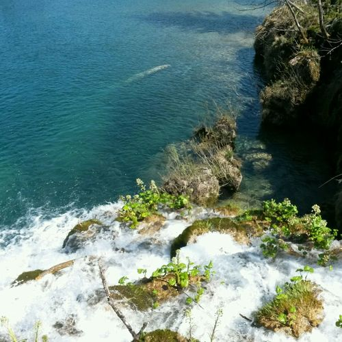 Waterfall Cascade Croatia Holiday Splitvice Lac Love