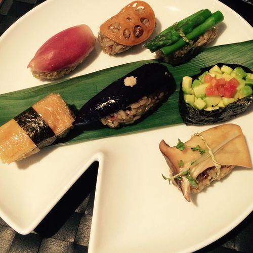 Sushi Vegan Sushilover Vegan Food Veganfoodshare Vegetables